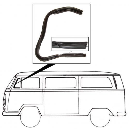 Těsnění křídla ventilace/L - Typ 2 (1967 » 79)