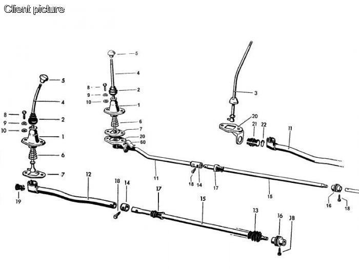 Pouzdra tyče řazení/set - Typ 2 (1961 » 79)