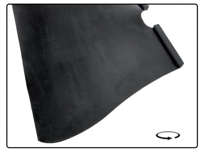 Kryty stupaček/černý mat - Typ 1 (1952 » 60)