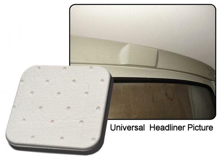 Čalounění stropu/bílý vinyl - Typ 2 Pick-up/Doka (1964 » 74)