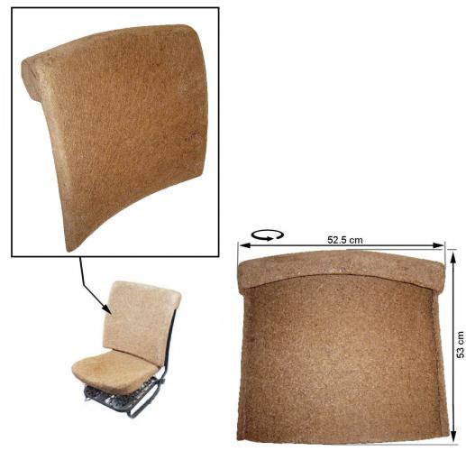 Opěrák sedadla/přední - Typ 1 (1966 » 72)