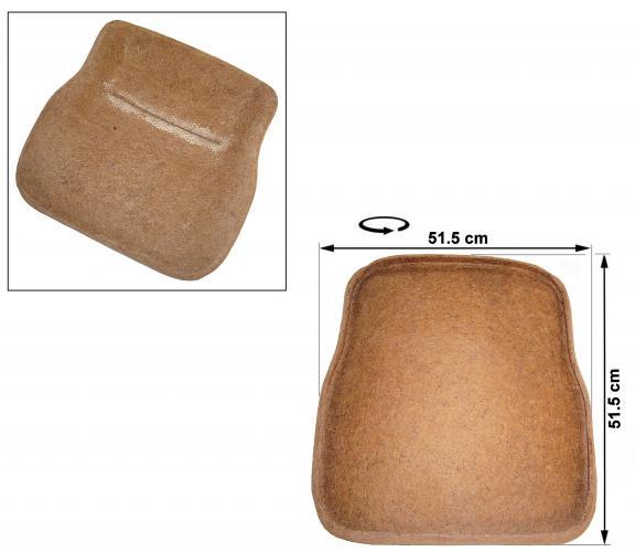 Sedák sedadla/přední - Typ 1 (1972 » 76)