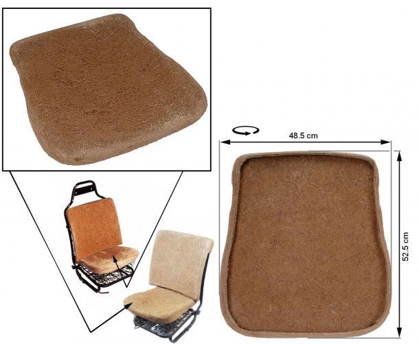 Sedák sedadla/přední - Typ 1 (1967 » 72)