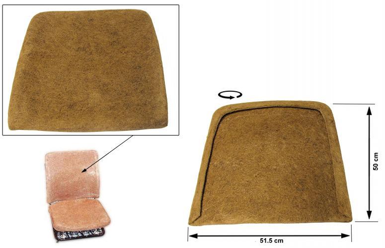 Opěrák sedadla/přední - Typ 2 (1962 » 76)