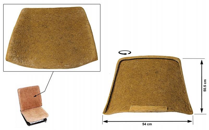 Opěrák sedadla/přední - Typ 2 (1967 » 74)