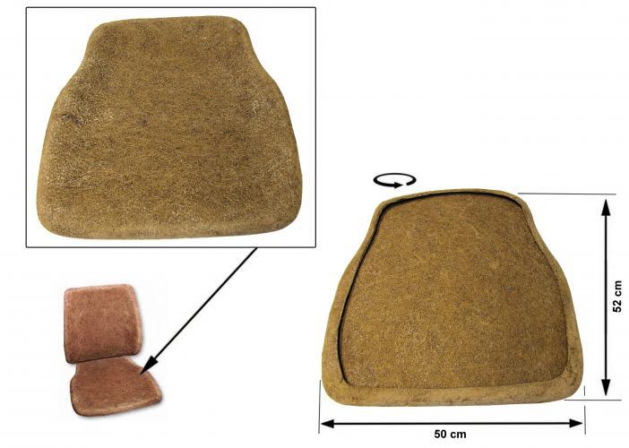 Sedák sedadla/přední - Typ 2 (1974 » 79)