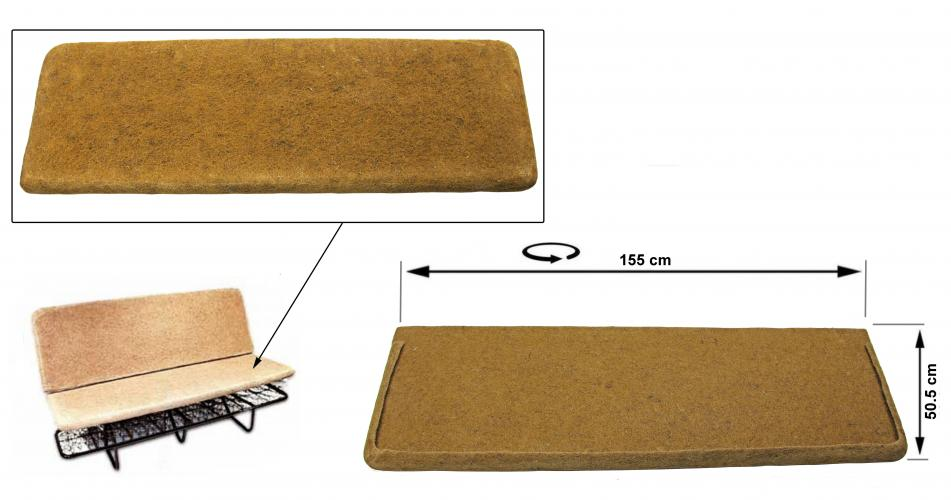 Sedák sedadla/zadní - Typ 2 (1955 » 79)