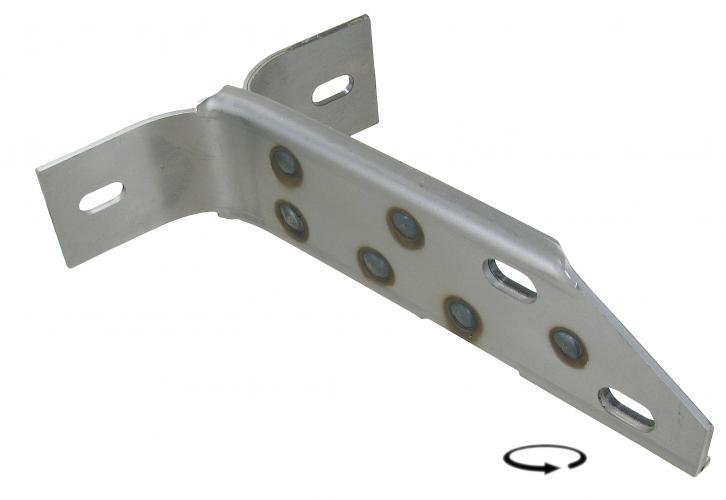 Držák nárazníku/přední L - Typ 2 (1958 » 67)