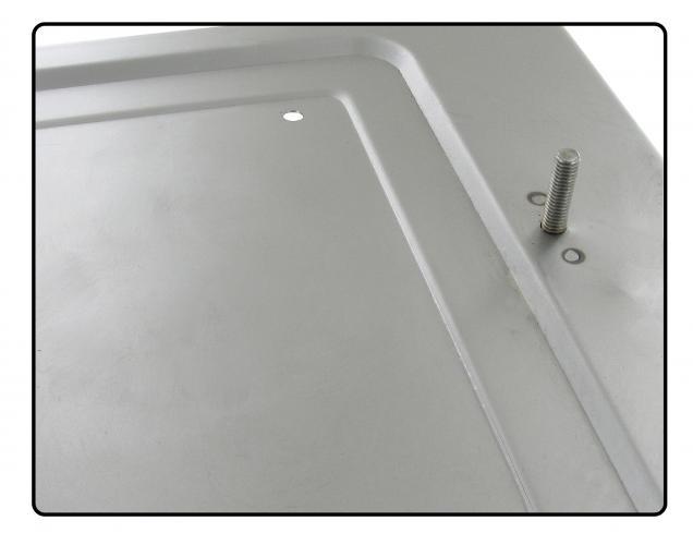 Panel pod akumulátor 6V/zadní P - Typ 2 (» 1967)