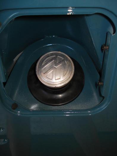 Manžeta/hrdlo nádrže paliva - Typ 2 (1955 » 67)