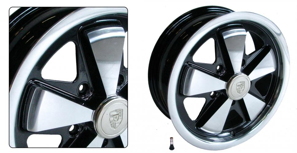 Kolo Fuchs/černé 5x130mm ET +45 (4.5x15)