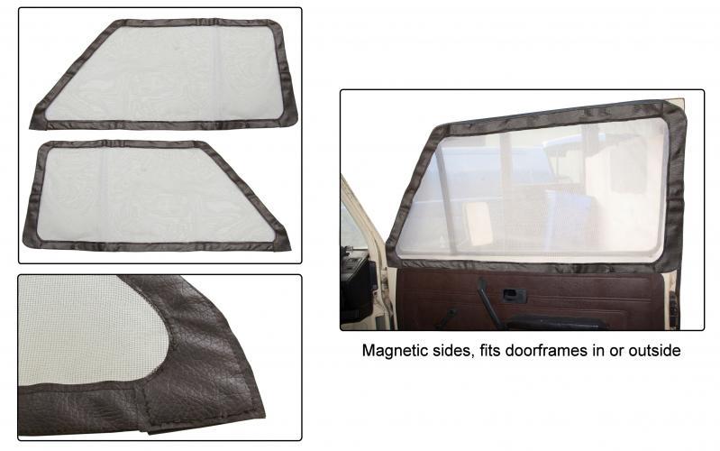Moskytiéry kabiny/dveře - Typ 25 (1979 » 92)