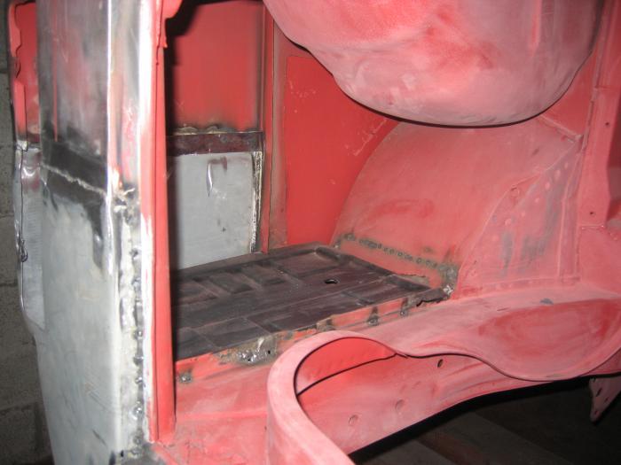 Panel vnitřní/zadní L - Typ 2 (1971 » 79)