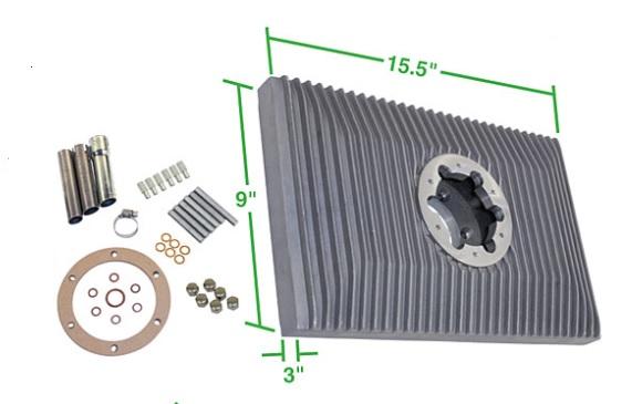 Vana přídavná Alu/olej 3.3L - Typ 1/3/CT/CZ motory (1960 »)