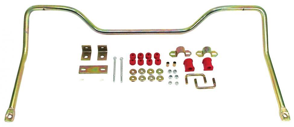 Stabilizátor zadní HD/červený uretan/kit - Typ 2 (1967 » 79)