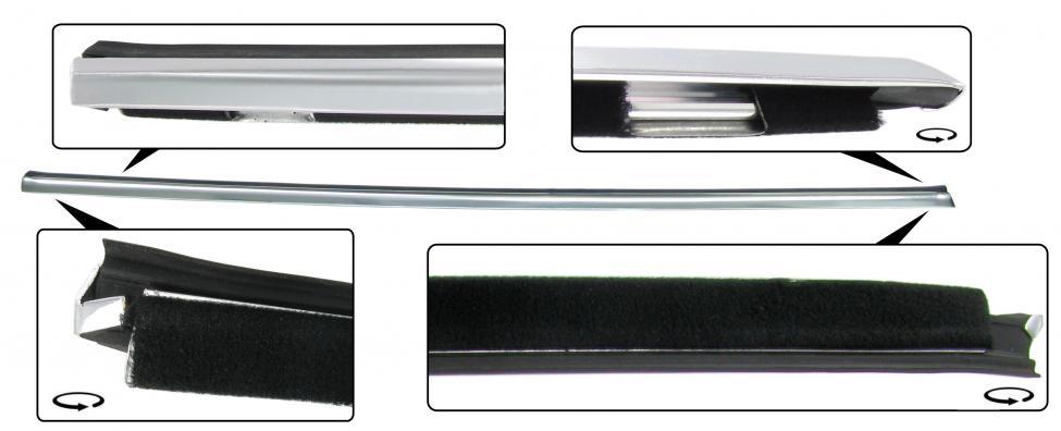 Sametka stahování skla+lišta/vnější P - Typ 14 (1971 »)