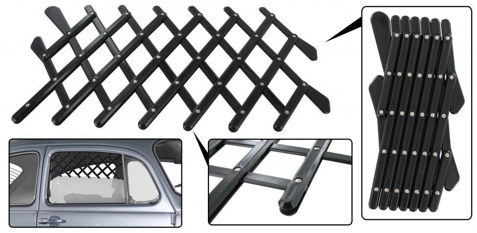 Mřížka okna bezpečnostní/černá L/P - Typ 1/2/3/25 (» 2003)