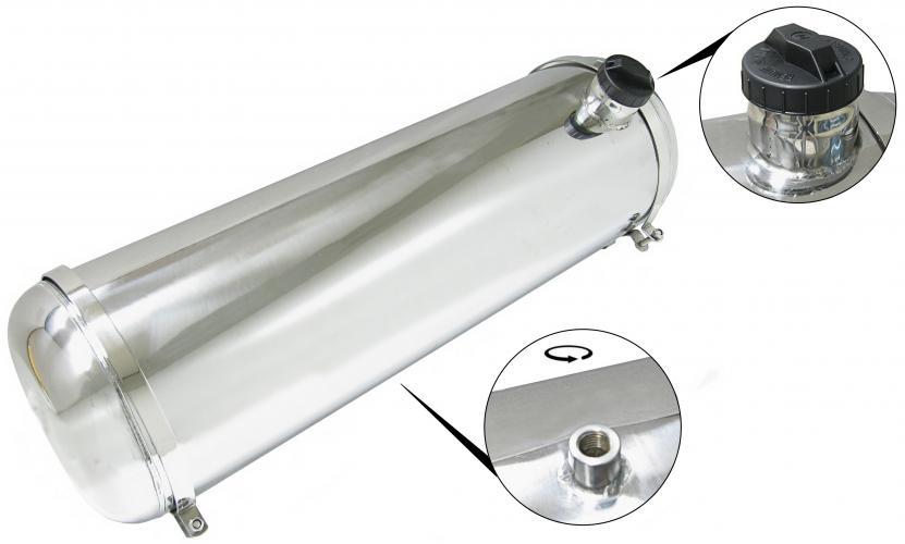 Nádrž paliva S/S boční vstup/40L - Typ (univerzál)