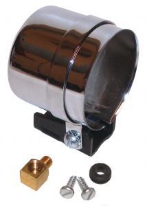 Pouzdro přístroje/chrom (Ø 67mm)