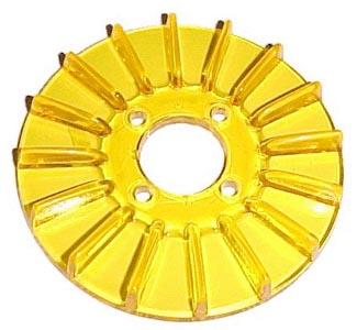 Kryt řemenice žlutý alt/gen - Typ 1 motor (» 2003)