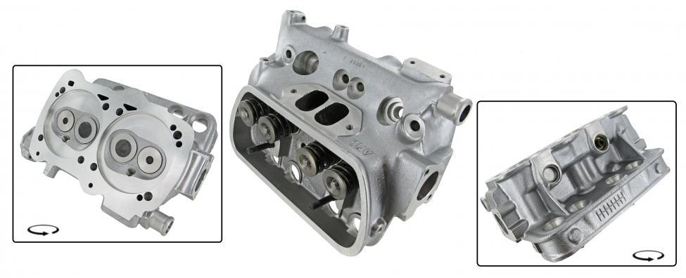 Hlava motoru komplet/dual - Typ 25 WBX motory (1.9/2.1)
