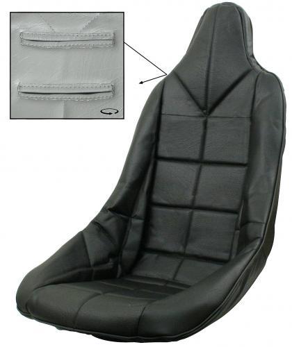 Potah sedadla/černý vinyl - T.1 Buggy/Baja (#62-2300#7521)