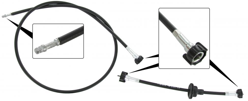 Náhon tachometru/dvoudílný - T.1 1303 US (1976 »)