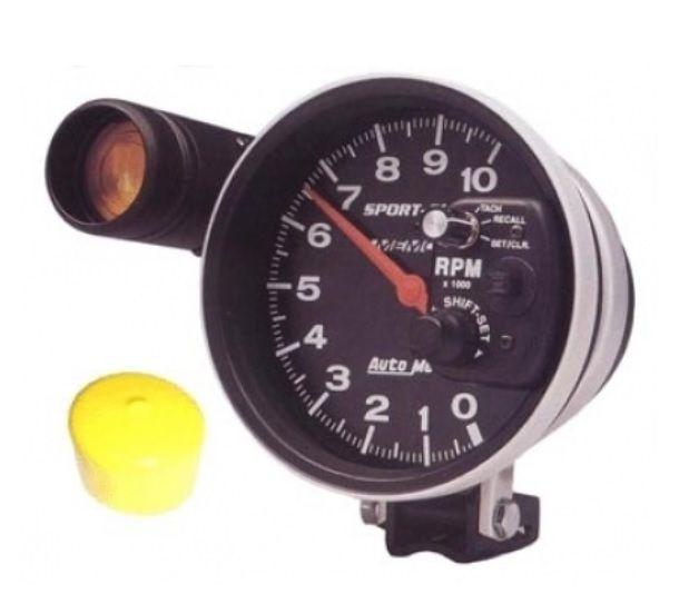 Přístroj černý/otáčkoměr 10000RPM (Ø 125mm)