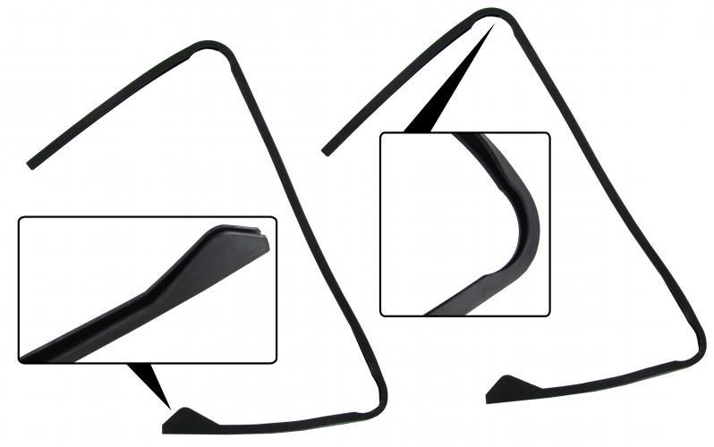 Těsnění rámu skla ventilace - Typ 1/2/3 (» 2003)