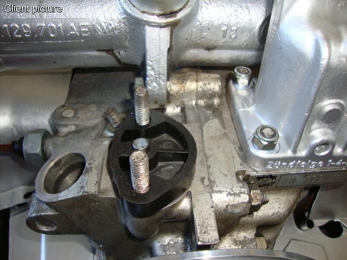 Příruba čerpadla paliva - Typ 1/3/CT/CZ/WBX motory (1960 »)