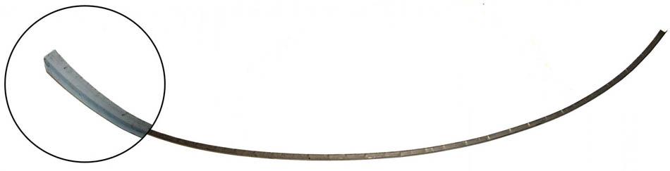 Čelo přední/spodní šev - Typ 2 (» 1967)