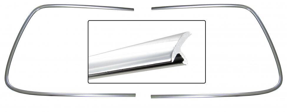 Lišty/těsnění čelního skla - Typ 14 (1966 » 74)