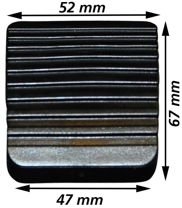 Kryt pedálu brzdy/spojky - Typ 1/2/3/14/181 (» 2003)