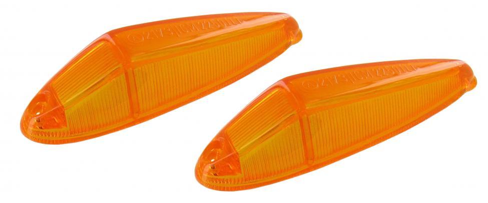 Skla směrových světel/přední oranžová - Typ 3/34 (1961 »)