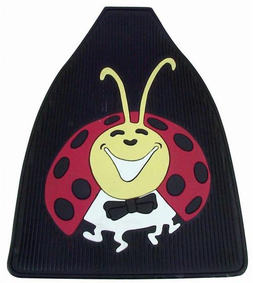 Rohože podlahy pryž/Lady Bug/přední - Typ 1 (» 2003)