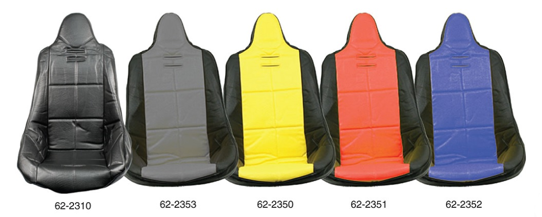 Potah sedadla černo/šedý vinyl - T.1 Buggy/Baja (#62-2300#7521)