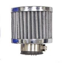 Filtr trubice odvětrání motoru/chrom (#16-2049)