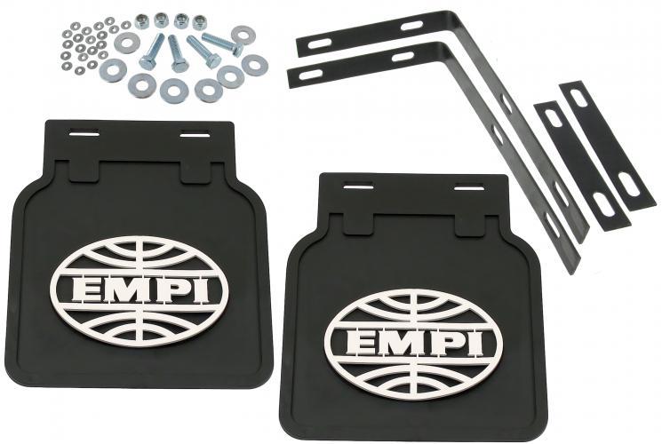 Zástěrky zadní EMPI/černé - Typ 2 (» 1972)