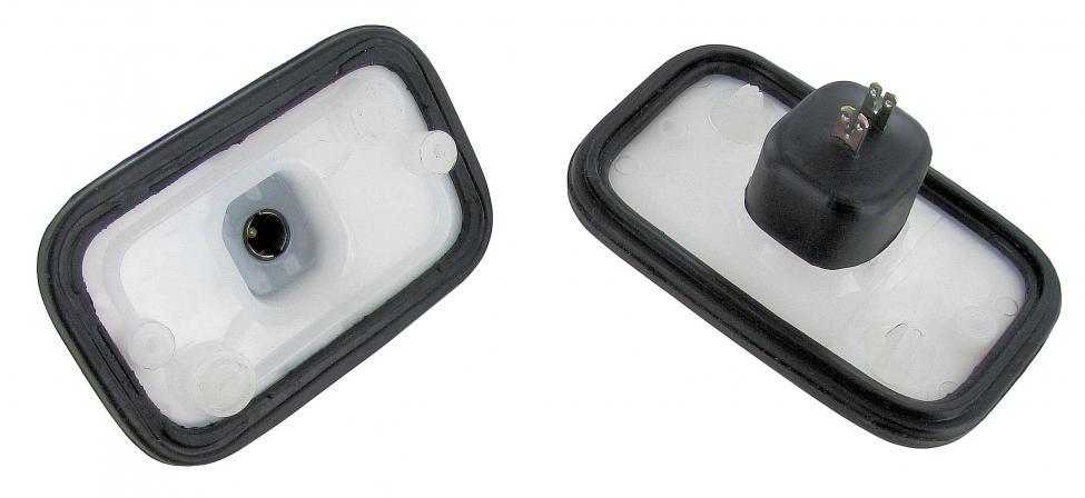 Držák žárovky/boční odrazka/zadní L/P - Typ 2 US (1969 » 79)