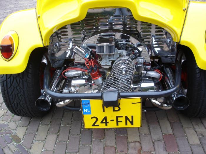 Výfuk se svody S/S race systém - T.1 Buggy/Baja/Trike (1.2-1.6)