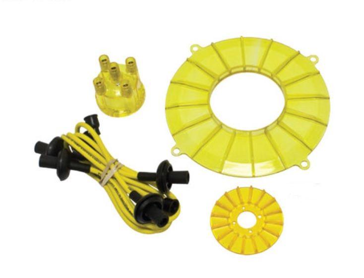 Kabely zapalovací wo kit/žluté - Typ 1 motor (» 1992)