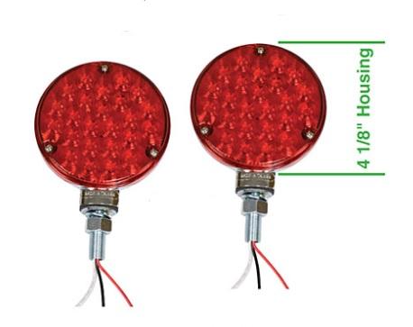 Světla koncová LED/104mm - Typ (Off-road)