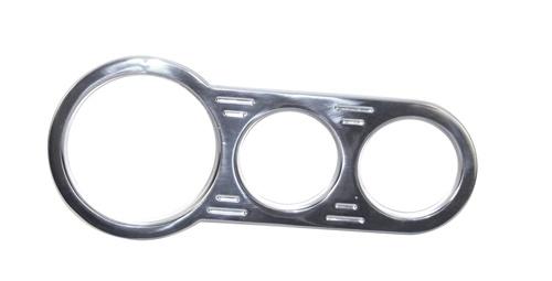 Konzole palubní desky/chrom (1V-2M)