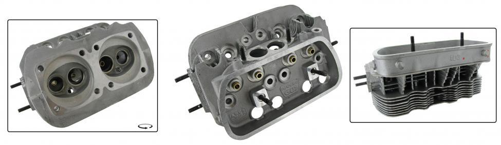 Hlava motoru 040/H dual - Typ 1/3 motory (» 1992)