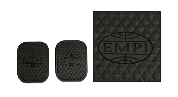 Kryty pedálů brzdy/spojky/EMPI - Typ 1/2/3/14/181 (» 2003)