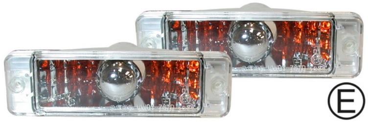 Světla směrová krystal/přední L/P - VW Golf/Jetta (1974 » 84)
