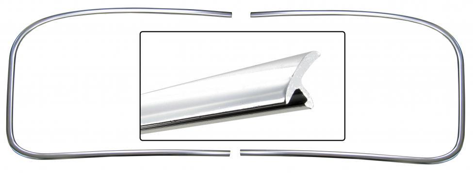 Lišty/těsnění zadního skla - Typ 14 (1967 » 74)