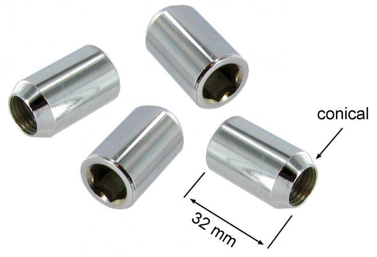 Matice kol/chrom (M14x1.5x32mm)