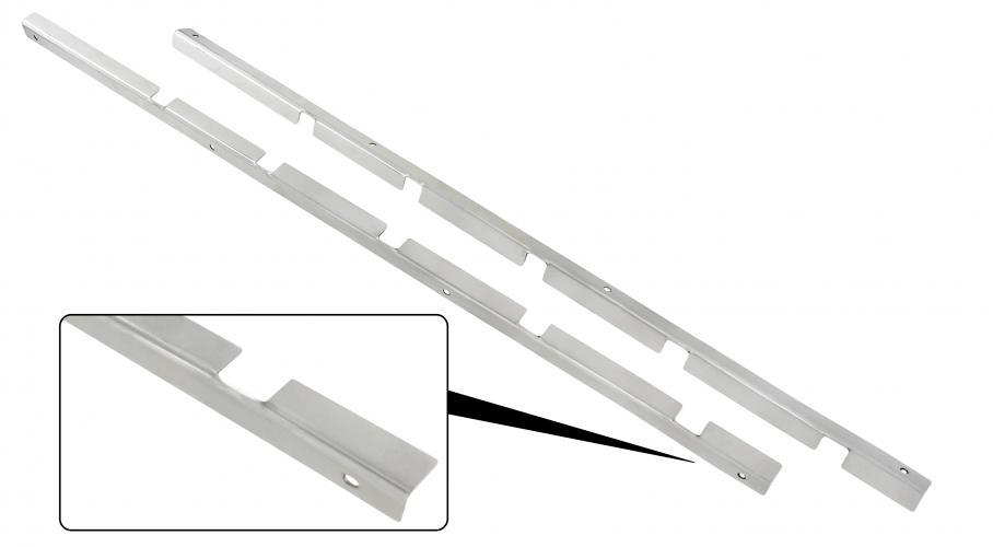 Lišty předních dveří S/S těsnění skla - Typ 2 (» 1967)
