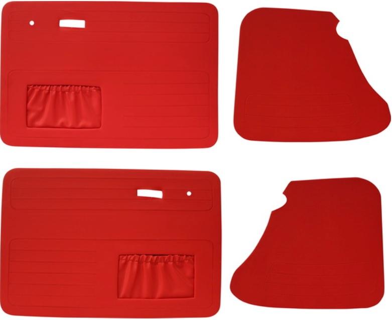 Panely dveří červené/kit - Typ 1 (1966 » 03)